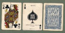 Antique  playing cards Service by Arrco. 1945